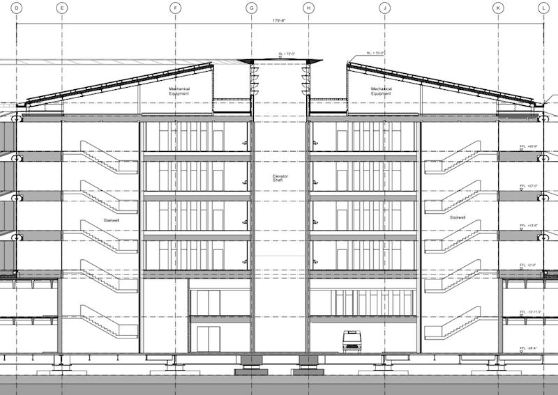 Fotos de los planos del proyecto de construcci n de la for Planos de construccion