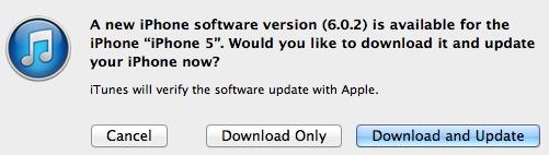 iOS6.0.2iTune