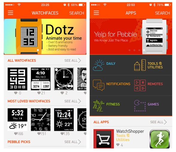 análisis_pebble_appstore_watchfaces_apps